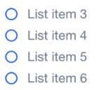 Une liste courte est le meilleur moyen d'optimiser le temps de décision